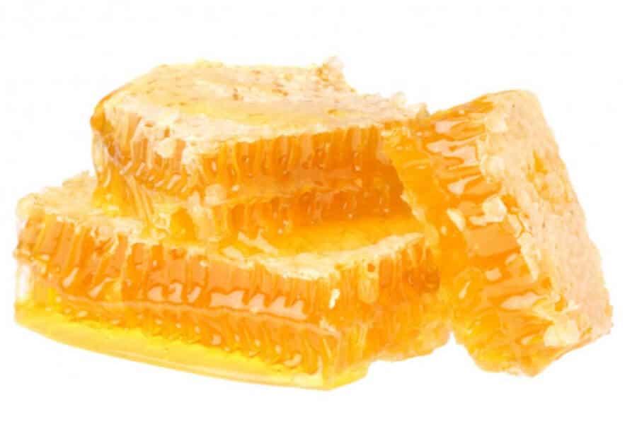 Miód sekcyjny - plastry miodu z woskiem