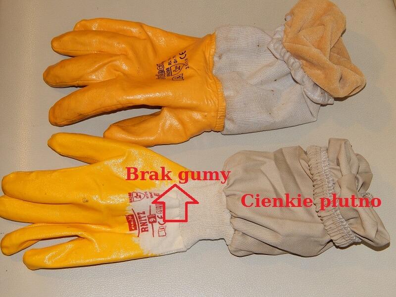 porównanie rękawiczek