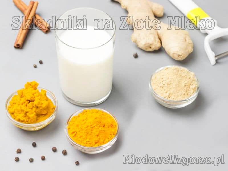 złote mleko składniki