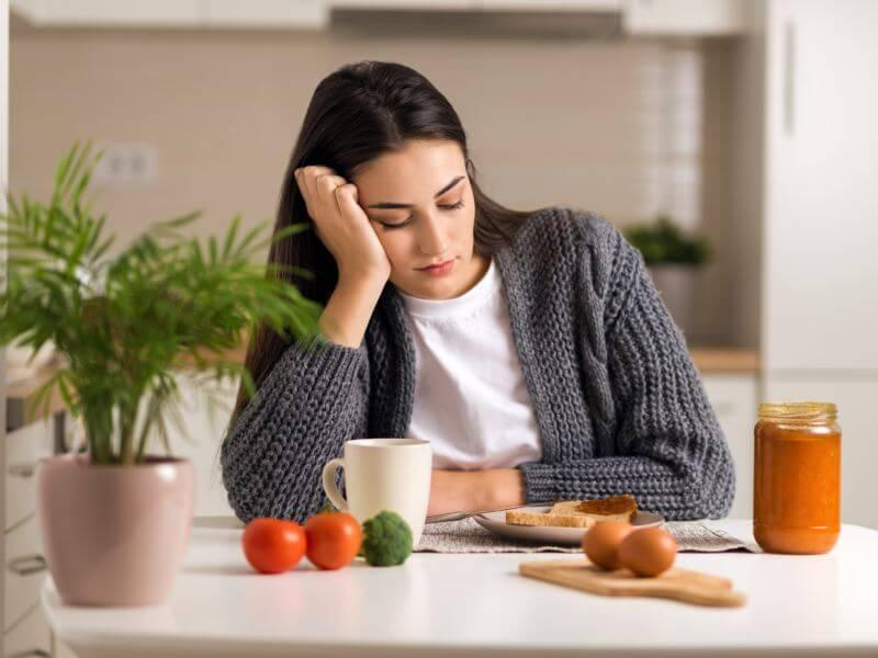 brak apetytu w ciąży